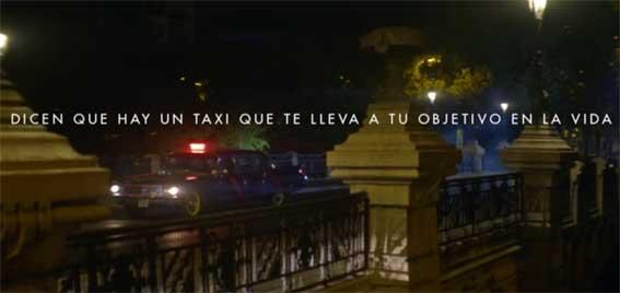 La nueva campaña de la FAD se sube al taxi