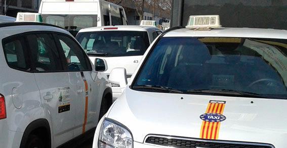 Apuñalado por un cliente un taxista en Palma