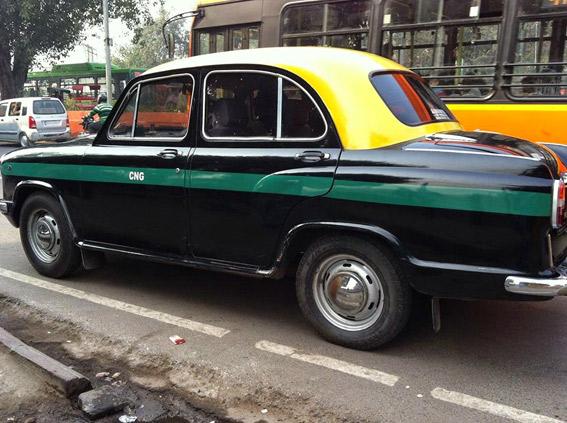 Huelga de taxistas en la India en contra de Uber y Ola