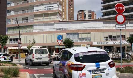 El taxi de Benidorm no se integrará en el área de prestación conjunta