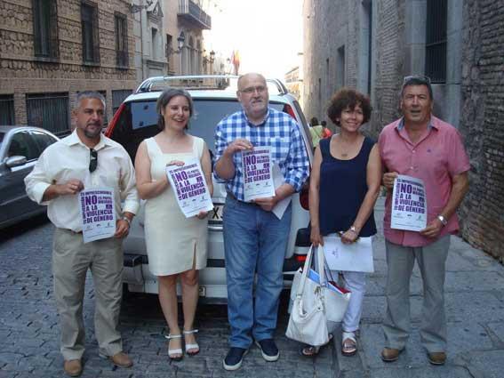 Los taxis de Castilla-La Mancha contra la violencia de género