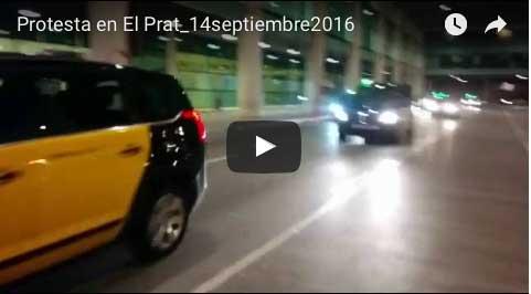 Sonora protesta en El Prat contra el cambio de la parrilla