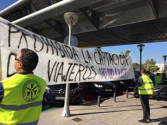 Protesta en Madrid contra la impunidad de los piratas