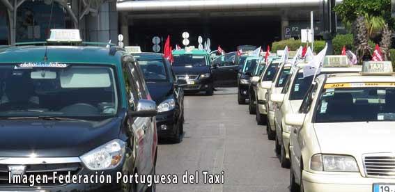 El taxi portugués volverá a manifestarse el 17-O