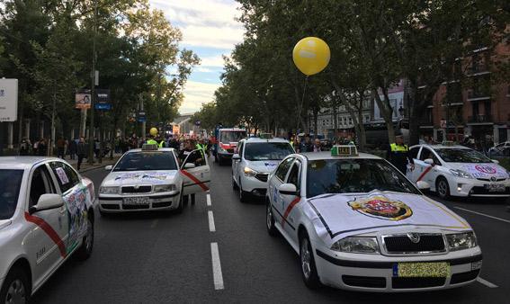 Élite Taxi Madrid encabeza la protesta contra el CETA y el TTIP
