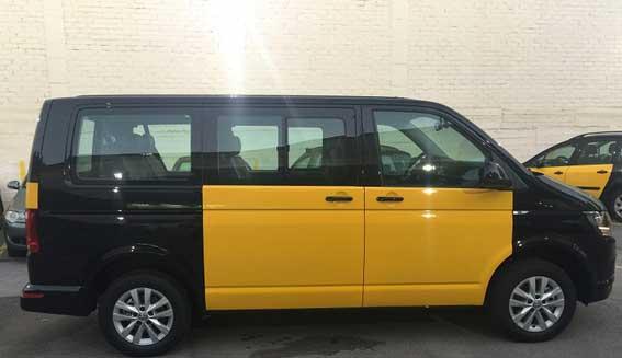 El Kombi Caravelle, nuevo taxi en Barcelona