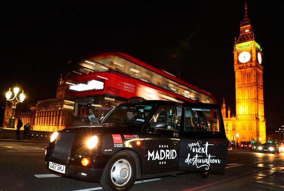 El London Taxi estará presente en otras capitales europeas