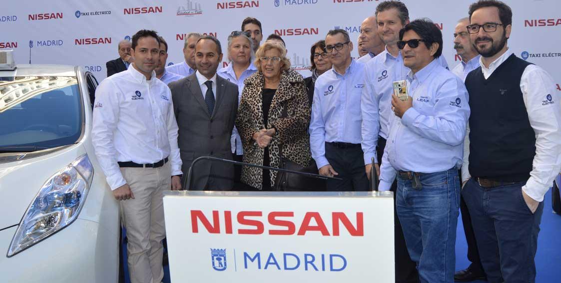 Madrid, a la cabeza en taxis eléctricos