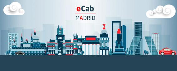 eCab llega a Madrid de la mano de TeleTaxi