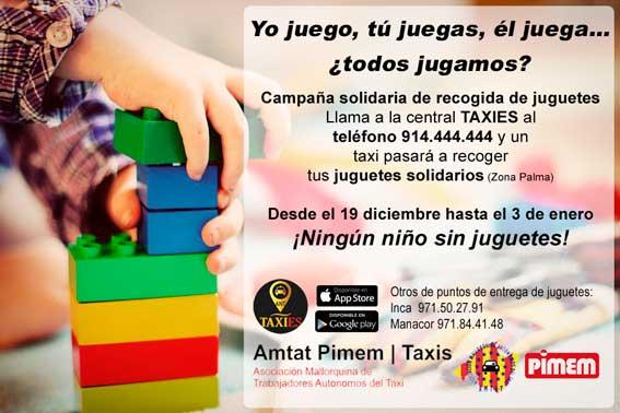 Campaña solidaria de recogida de juguetes en Palma