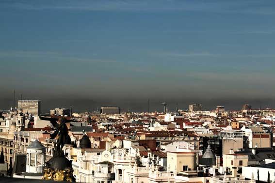 Hoy pueden circular todos los coches en Madrid