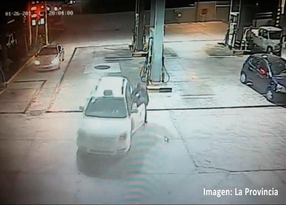 Detenido por robar un taxi en una gasolinera