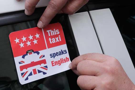 Cursos online de inglés para los taxistas de Madrid