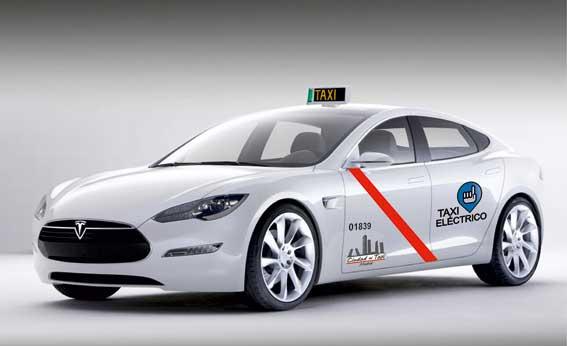 Presentado a homologación el Tesla taxi, según Ciudad del Taxi