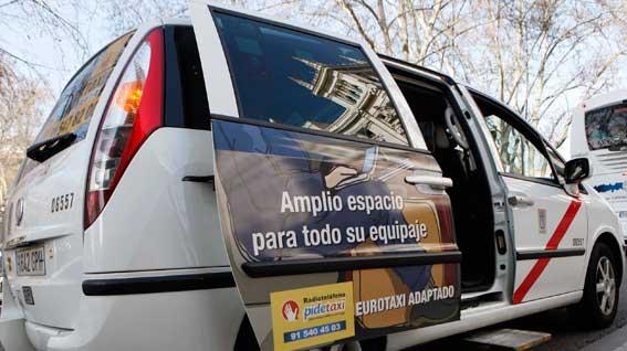 Madrid ya cumple el ratio de eurotaxis exigido por la ley