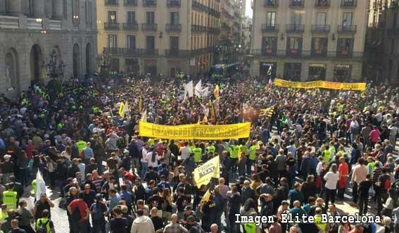 12 horas sin taxis en Barcelona
