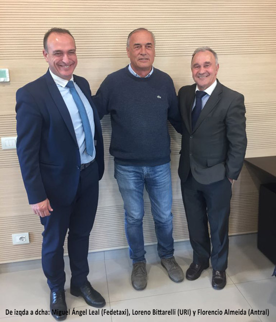 Fedetaxi presidirá la futura Alianza Europea