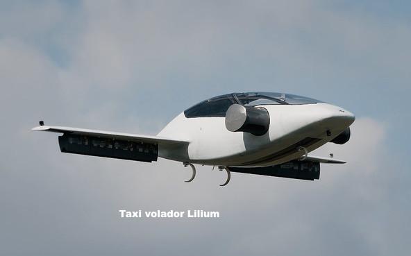 Primer viaje de prueba del taxi volador