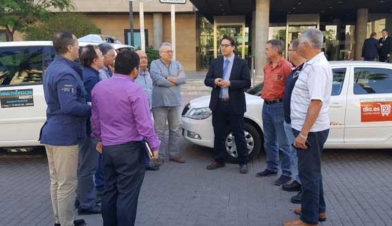 180.000 euros para modernizar la flota de taxis