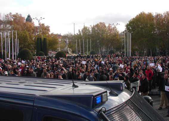 La manifestación del 30M terminará en Neptuno