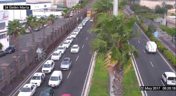 Protesta en Las Palmas de G.C contra los días libres