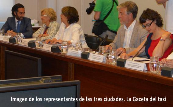 Barcelona, Madrid y Zaragoza piden frenar la transmisión de VTCs