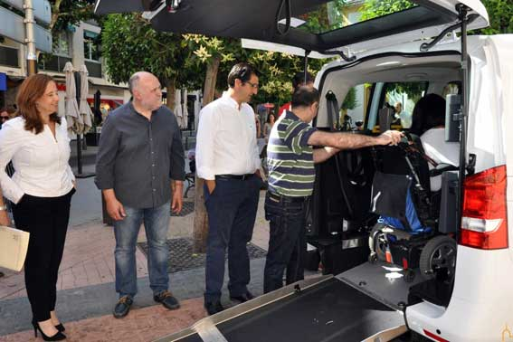 30.000 euros de ayudas para eurotaxis en Ciudad Real