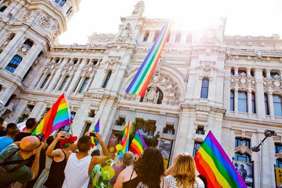 El taxi madrileño, partner oficial del World Pride