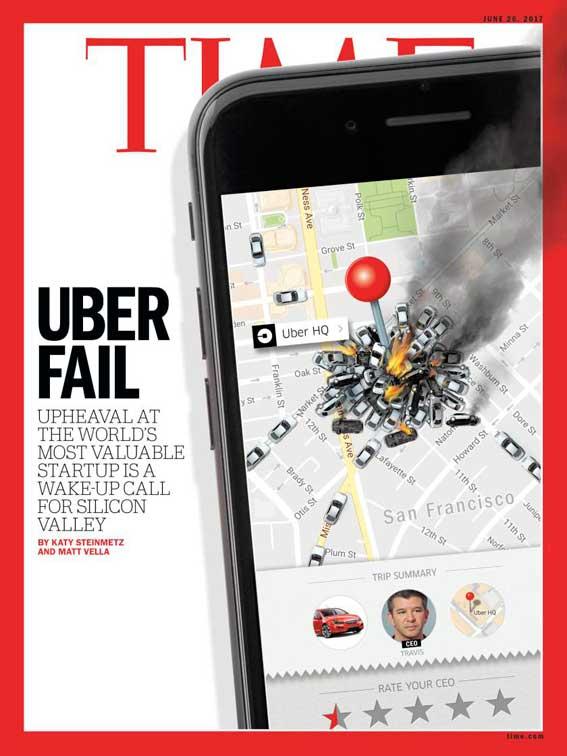 La caída de Uber, según The New York Times