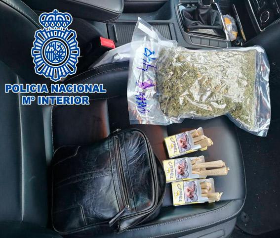 Conductor de VTC detenido por tráfico de drogas