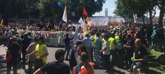 Gran manifestación en Madrid el próximo 27J