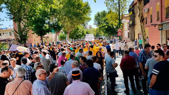 Las asociaciones mayoritarias de Sevilla rechazan las protestas