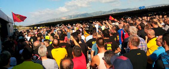 Cuarta jornada de paros y protestas del taxi contra las VTCs desde abril