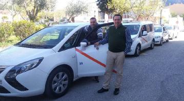 El taxi de Andratx moderniza su gestión de flotas