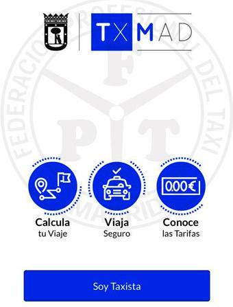 Madrid presenta una app para taxistas y usuarios