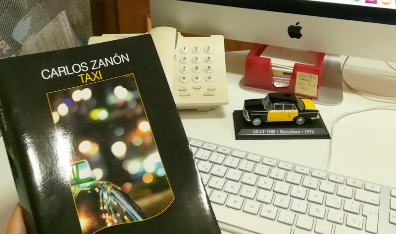 Barcelona a vista de Taxi en la nueva novela de Carlos Zanón