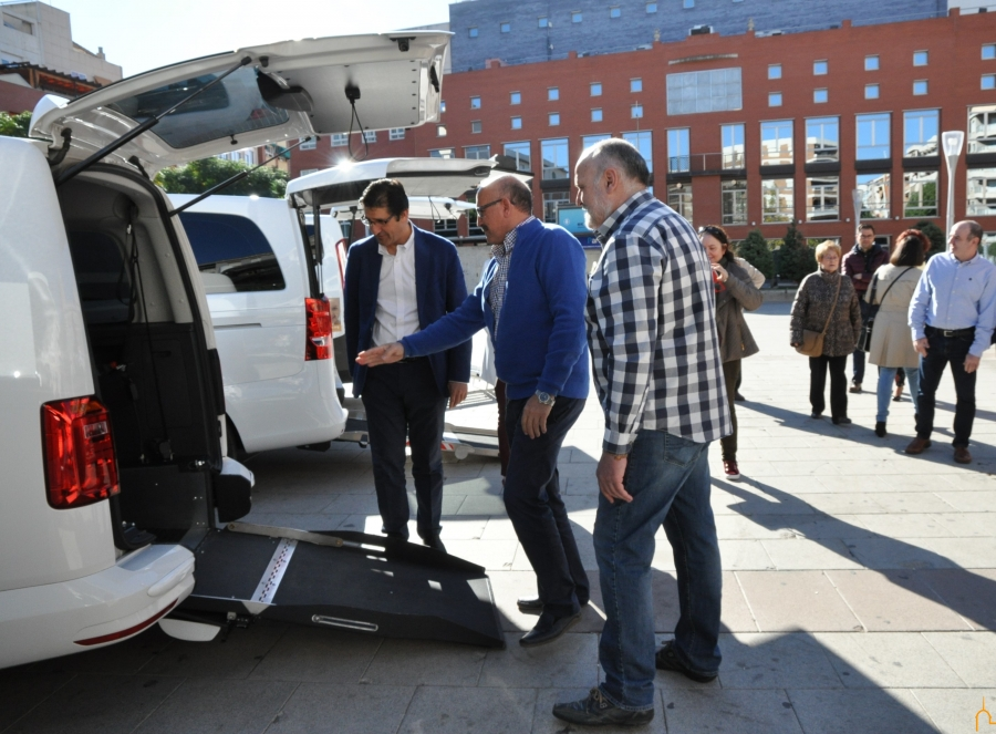 Cinco eurotaxis para la provincia de Ciudad Real