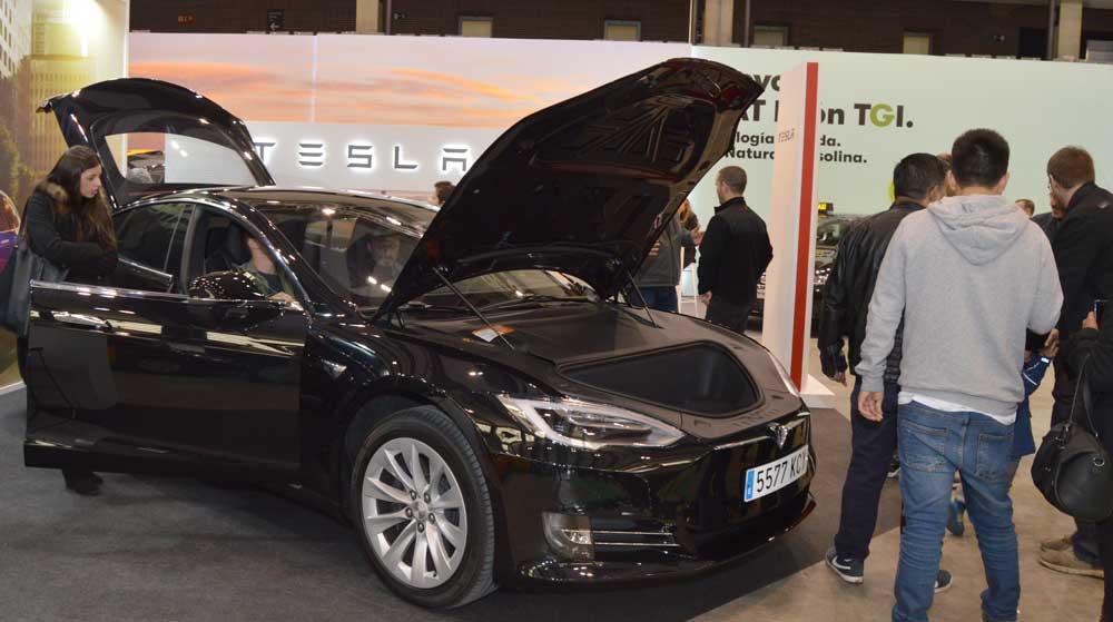 Presentado a homologación en Barcelona el Tesla S