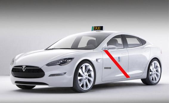Tesla presenta a homologación su taxi para Madrid