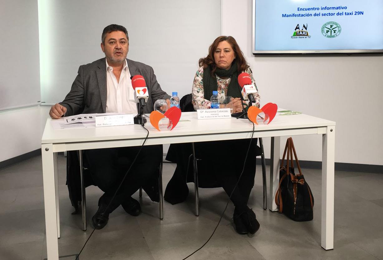 """Antaxi valora: """"alargar la huelga si no hay solución"""""""