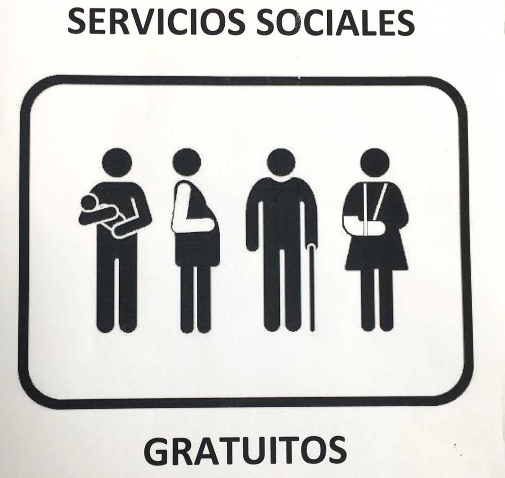 Servicios sociales mínimos gratuitos durante la jornada de protesta