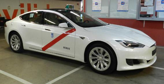 Autorizado el Tesla Model S en Madrid