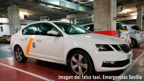 Detenido un falso taxista por conducir sin carné