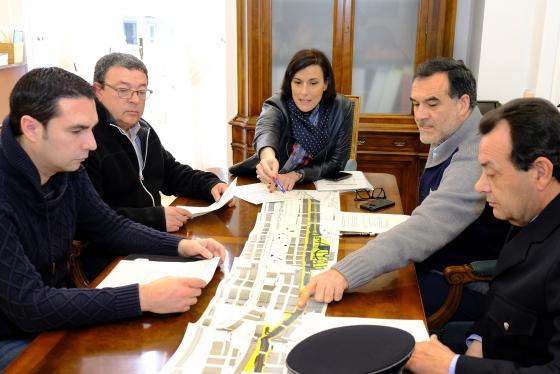 Taxis y Ayuntamiento acuerdan normas de uso del carril rápido