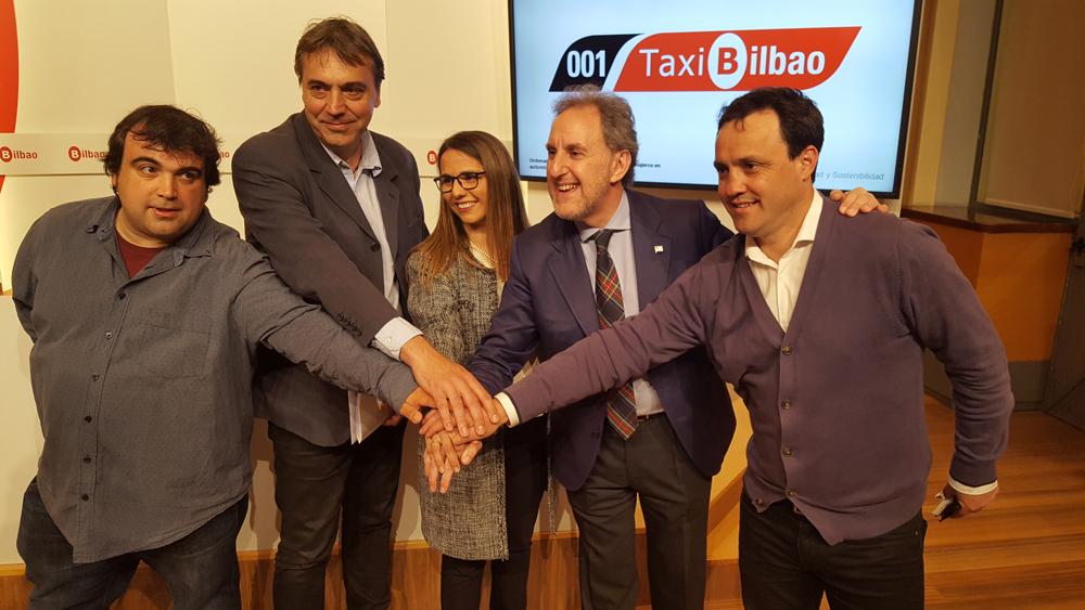 Bilbao solo permitirá taxis cero emisiones o ECO a partir de 2030
