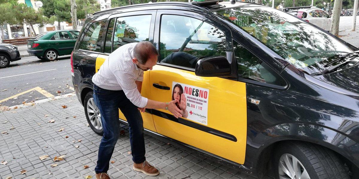 El 'No es no' se sube al taxi