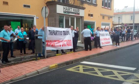 Taxistas de LPGC exigen la creación de una Mesa Sectorial