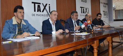 El taxi decide por amplísima mayoría ir a la huelga indefinida