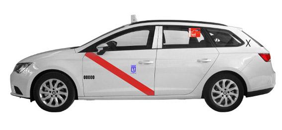 Nueva variante del Seat León ST para taxi en Madrid