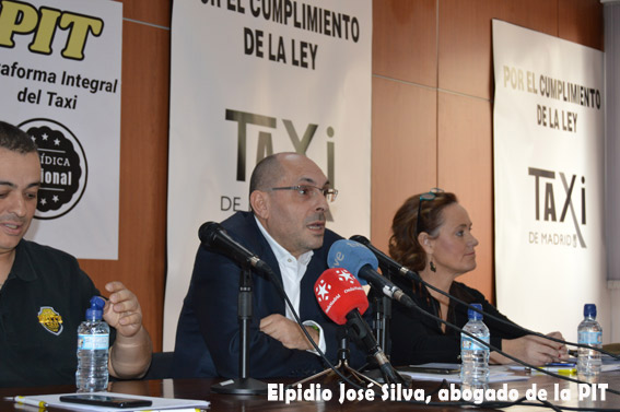 Desacuerdo económico entre el taxi y Elpidio Silva